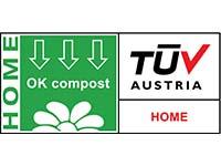 TUV AUSTRIA OK COMPOST HOME