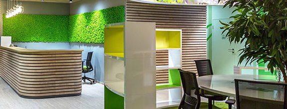 oficinas e instalaciones ecologicas