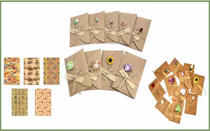 Lernen Sie das verzierte Kraftpapier kennen und lassen Sie Ihrer Kreativität freien Lauf