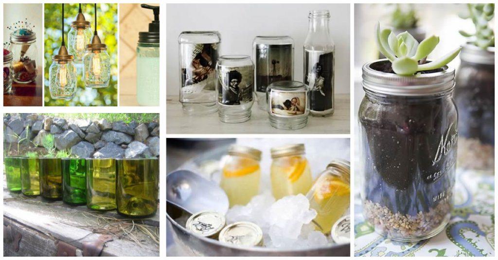 Cristal: Material ideal para preservar o almacenar alimentos