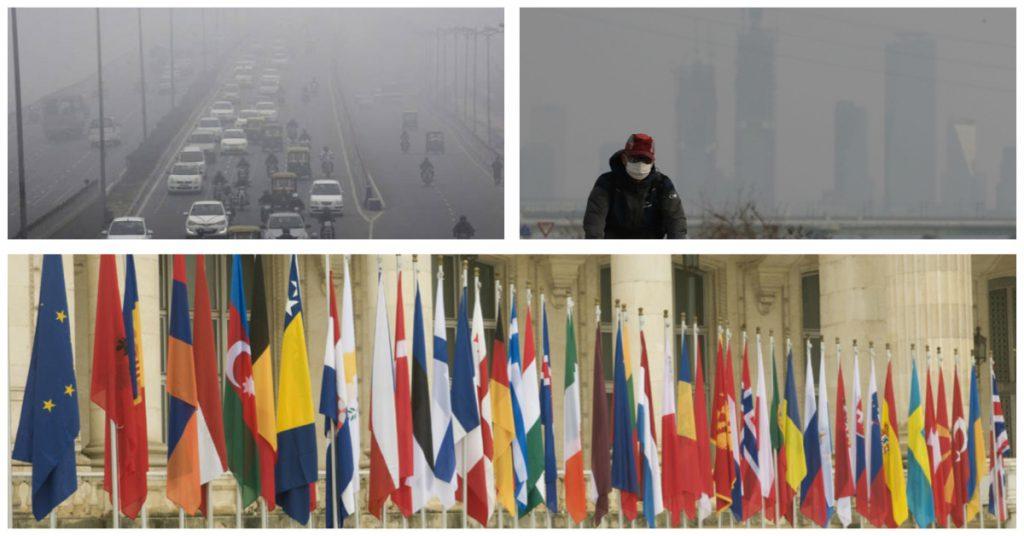 Países más contaminantes, al cierre de la primera década del milenio