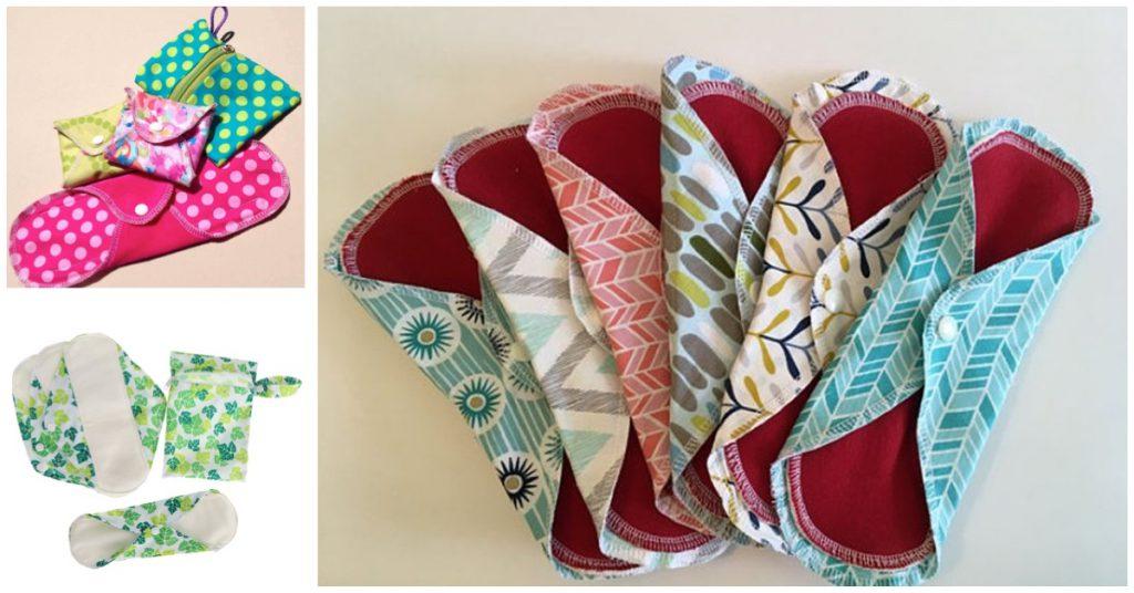 Beneficios de las compresas de tela reutilizables