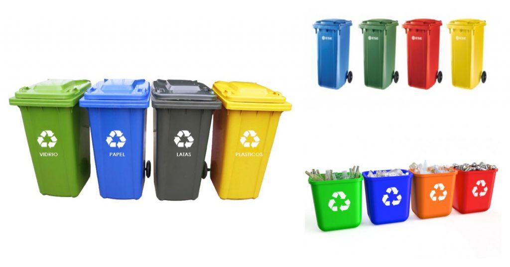 Cada residuo tiene su contenedor