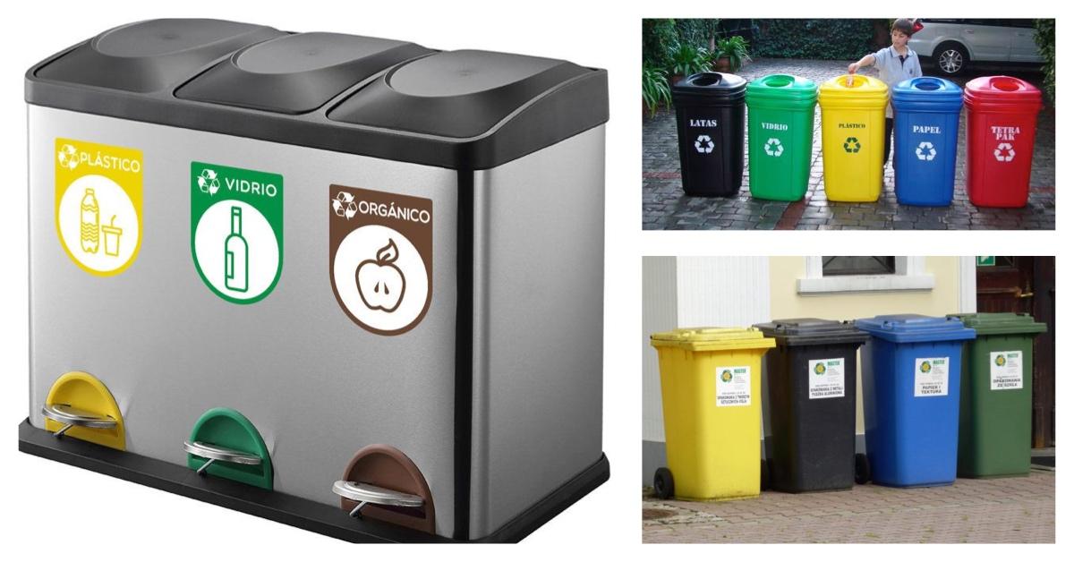 Contenedores de reciclaje explicados como nunca antes