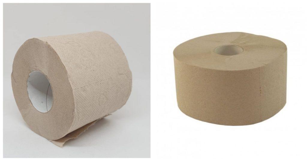 Papel higiénico reciclado