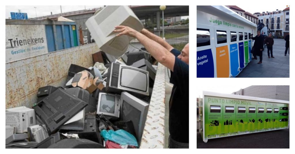 Puntos limpios en España