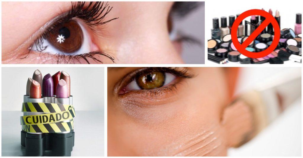 Sustancias dañinas que se encuentran en los cosméticos tradicionales