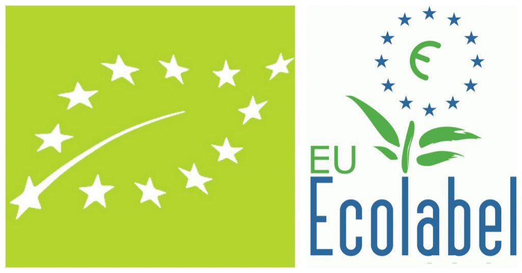 Identificación del producto en la etiqueta ecológica europea