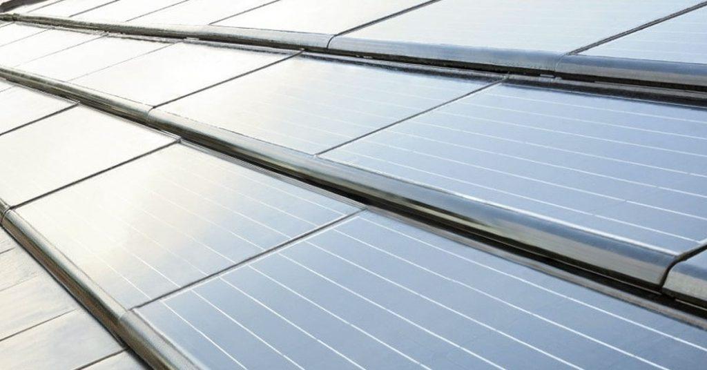 Estás son las tejas fotovoltaicas