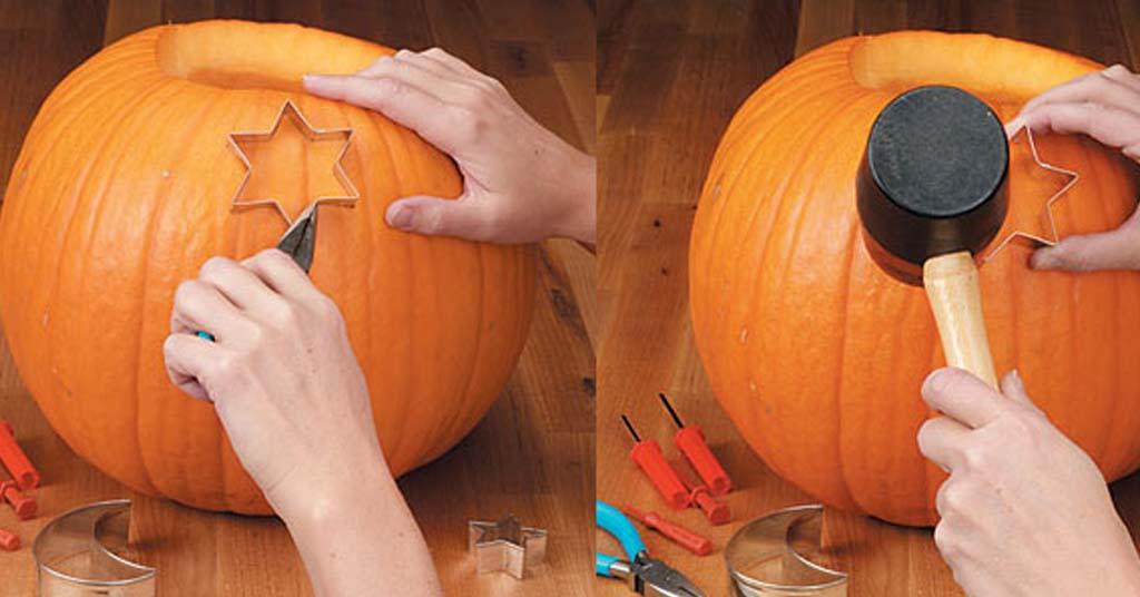 decorar calabazas de haloween
