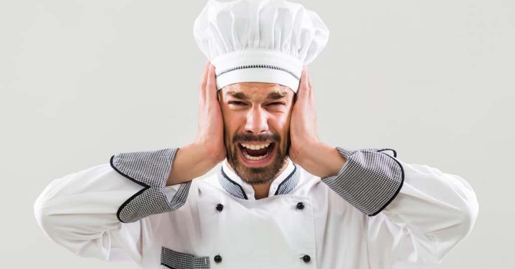 stress in de keuken