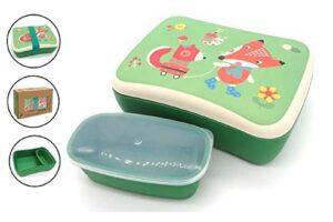Boîte à goûter écologique pour les enfants