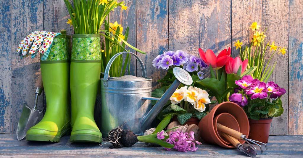 ideas de reciclaje para decorar jardin