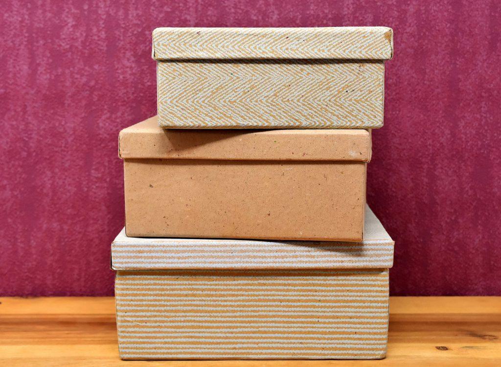 materiales de embalaje cajas